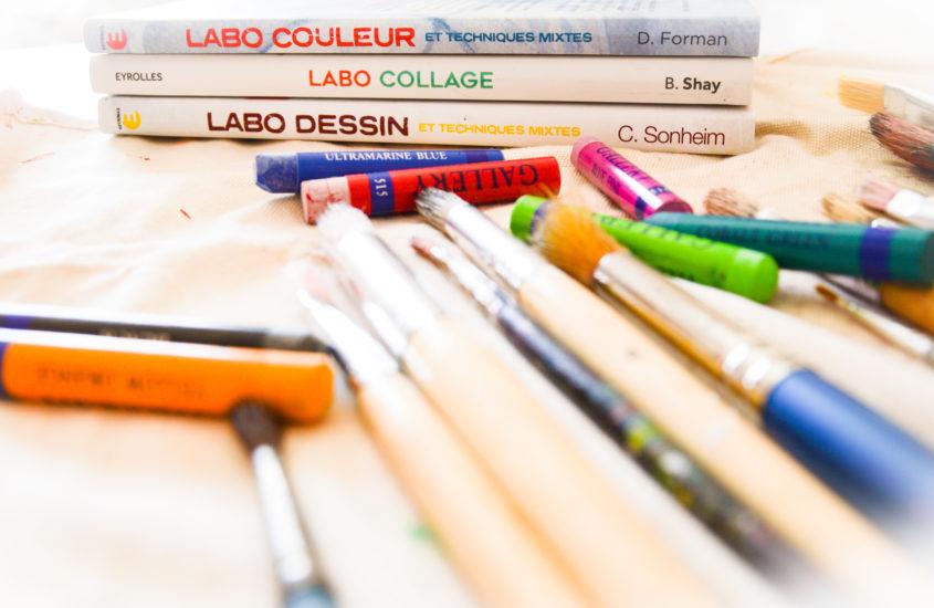 Des Livres pour réaliser des ateliers d'arts CRÉATIFS