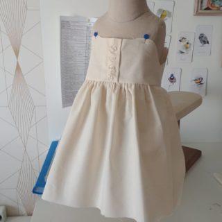 Nouveau modèle en cours  #modelisme  #modeenfants #robe #pattern